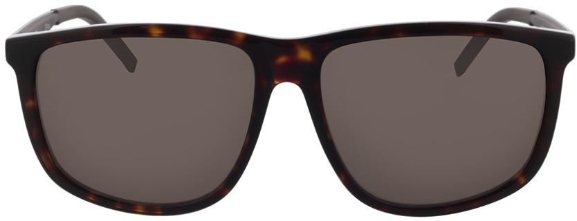 Picture of glasses model Hugo HG 1138/S 086 58-15 in angle 0