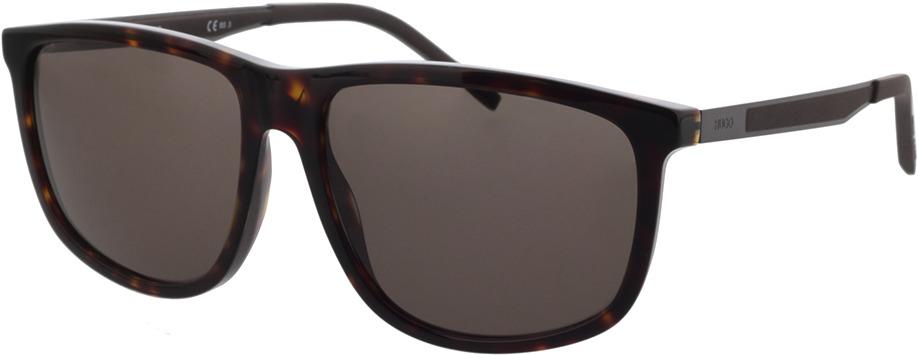 Picture of glasses model Hugo HG 1138/S 086 58-15 in angle 330