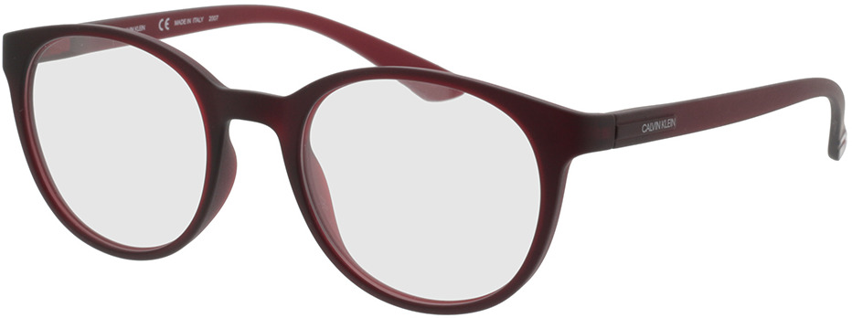 Picture of glasses model Calvin Klein CK19570 601 50-20 in angle 330
