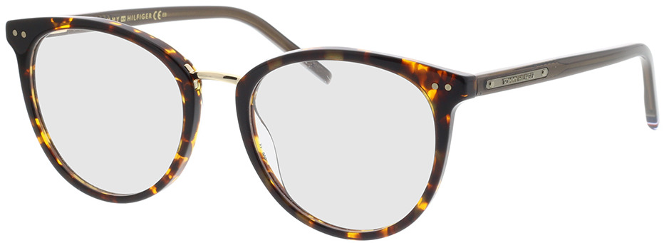 Picture of glasses model Tommy Hilfiger TH 1734 086 50-18 in angle 330