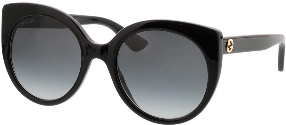 Picture of glasses model Gucci GG0325S-001 55-21
