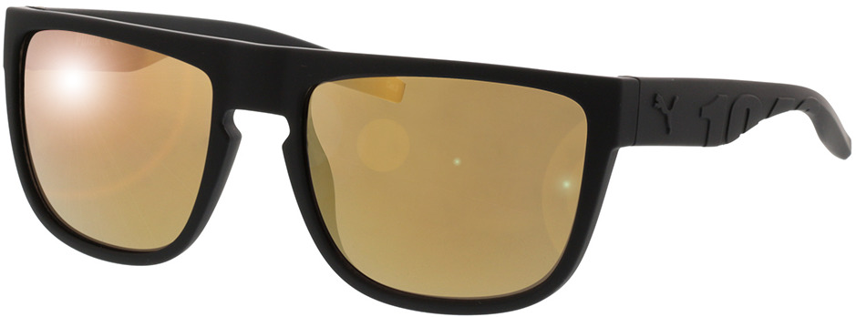 Picture of glasses model Puma PU0218S-002 57-19 in angle 330