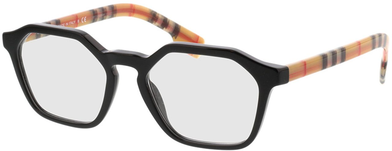 Picture of glasses model Burberry BE2294 3757 51-18  in angle 330