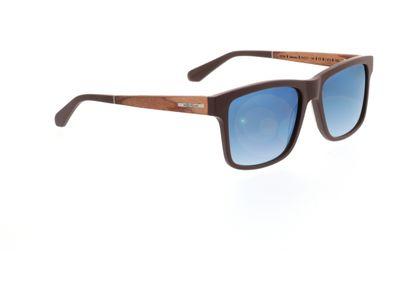 Brille Wood Fellas Sunglasses Hohenburg zebrano 56-17