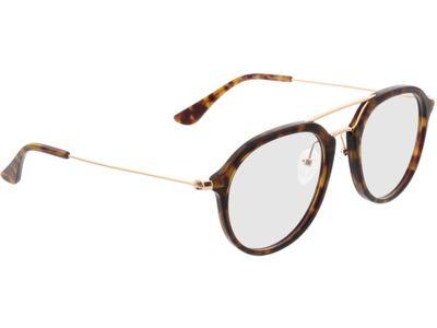 Brille Shanghai-braunmeliert/gold