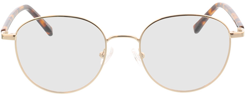 Picture of glasses model Utrecht-gold/havana in angle 0