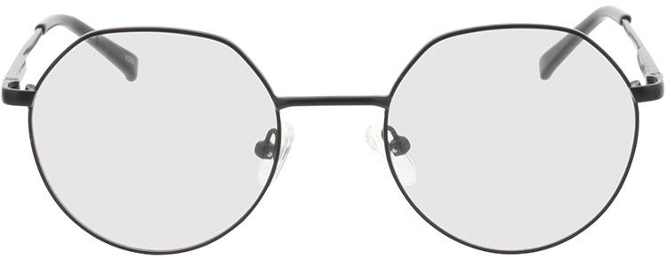 Picture of glasses model Alba-matt schwarz in angle 0