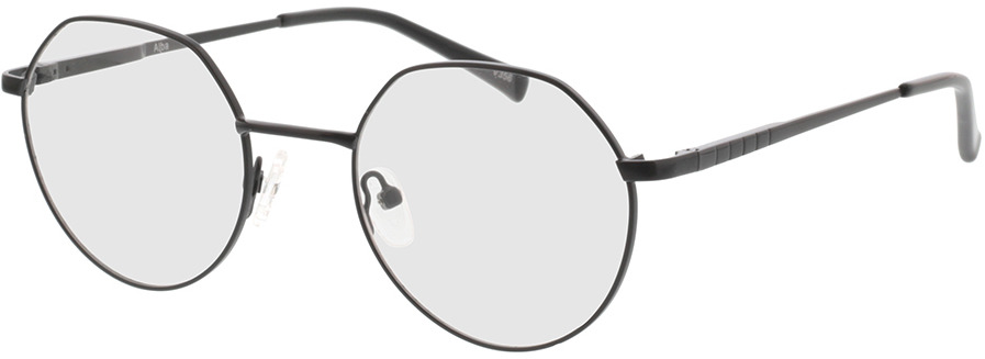 Picture of glasses model Alba-matt schwarz in angle 330