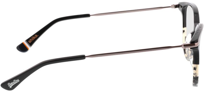 Picture of glasses model Superdry SDO Shika 104 Zwart/beige befleckt 50-18 in angle 90