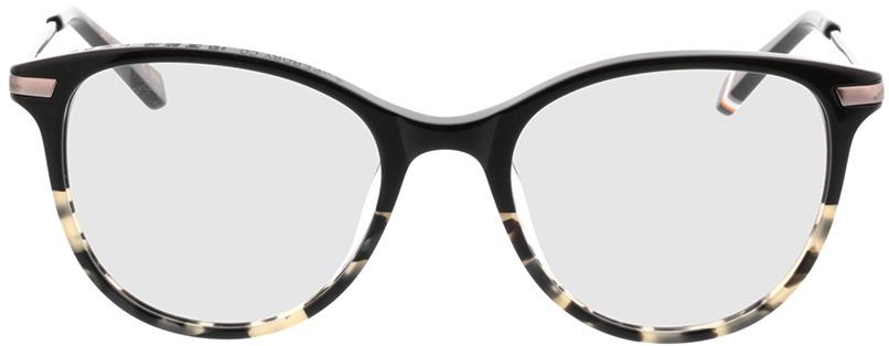 Picture of glasses model Superdry SDO Shika 104 Zwart/beige befleckt 50-18 in angle 0