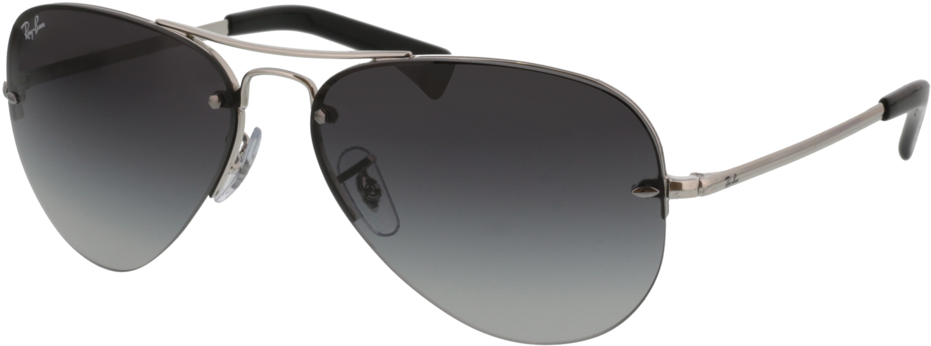 Picture of glasses model Ray-Ban RB3449 003/8G 59-14 in angle 330