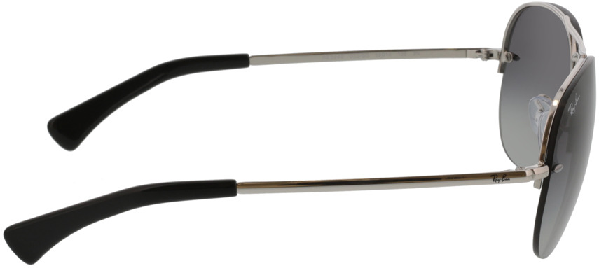 Picture of glasses model Ray-Ban RB3449 003/8G 59-14 in angle 90