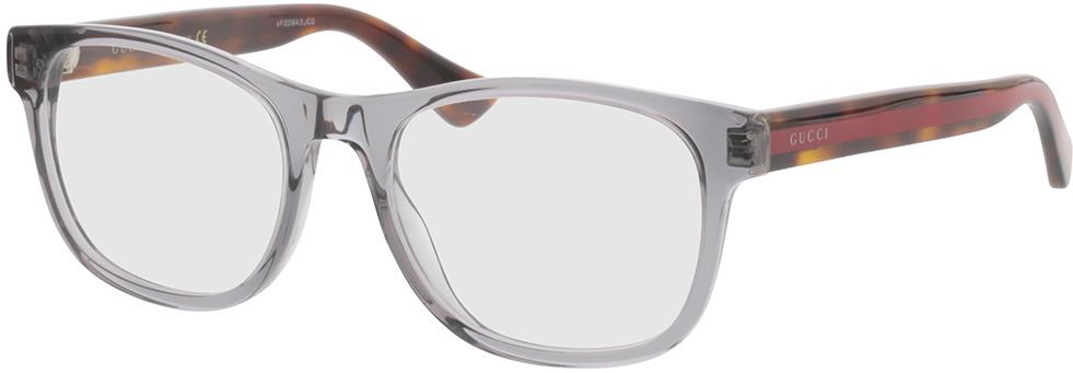 Picture of glasses model Gucci GG0004O-004 53-19 in angle 330