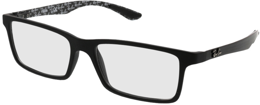 Picture of glasses model Ray-Ban RX8901 5263 55-17 in angle 330
