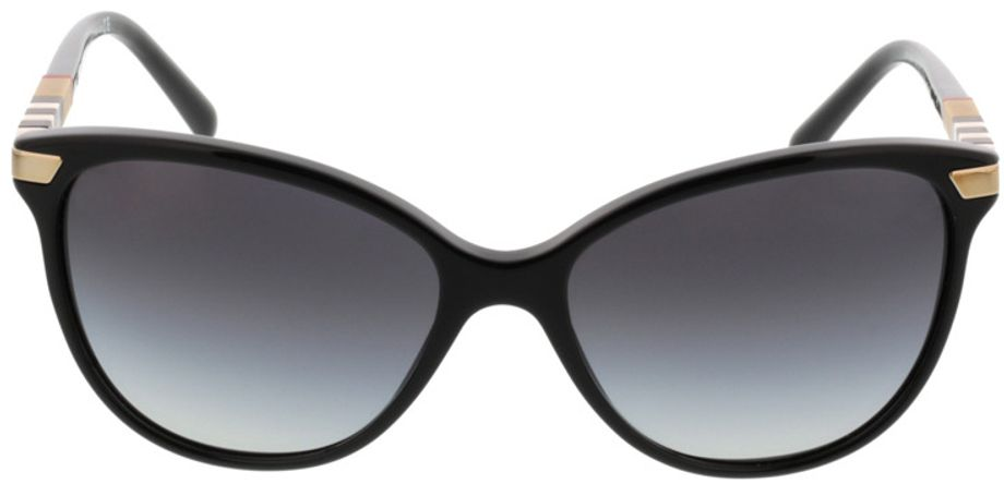 Picture of glasses model Burberry BE4216 30018G 57-16 in angle 0