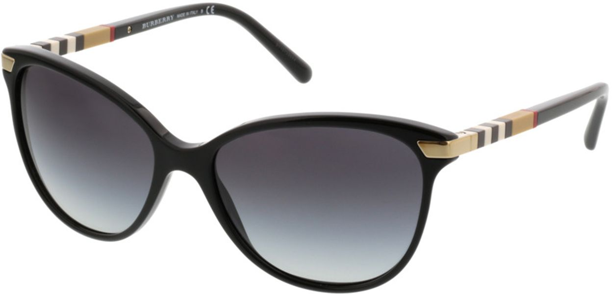 Picture of glasses model Burberry BE4216 30018G 57-16 in angle 330