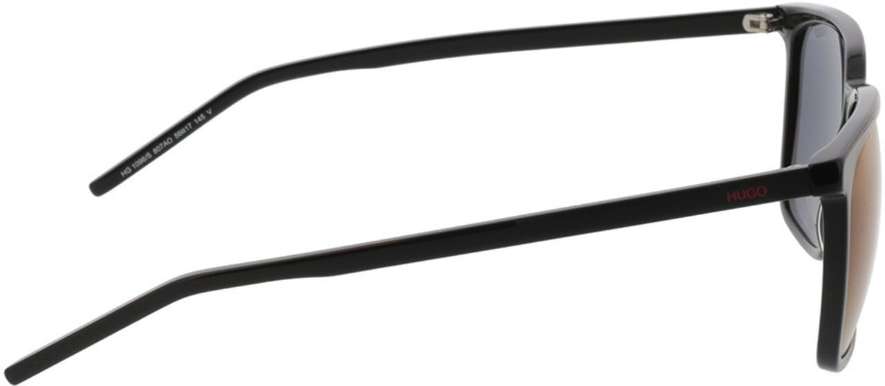Picture of glasses model Hugo HG 1096/S 807 56-17 in angle 90