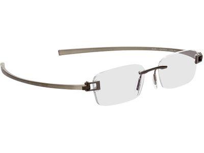 Brille Wellington-silbergrau