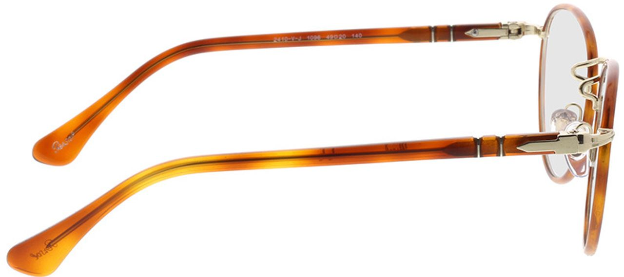 Picture of glasses model Persol PO2410VJ 1096 49-20 in angle 90