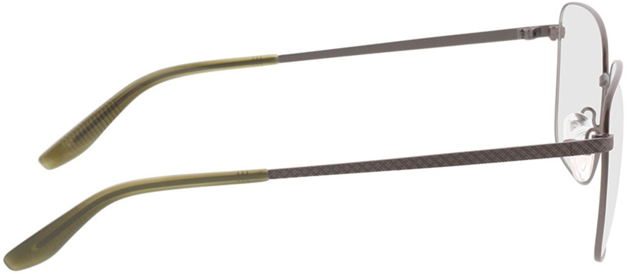 Picture of glasses model Helios-anthrazit/khaki horn in angle 90