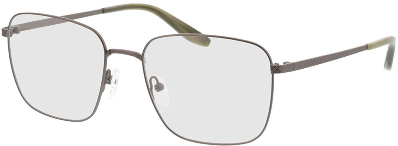 Picture of glasses model Helios-anthrazit/khaki horn in angle 330