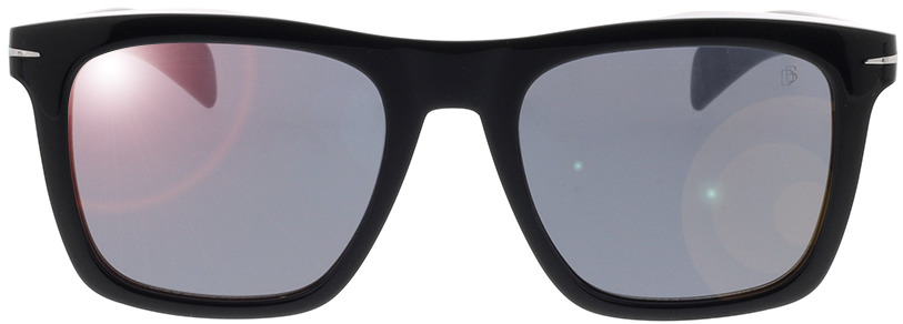 Picture of glasses model David Beckham DB 7000/S 807 51-20 in angle 0