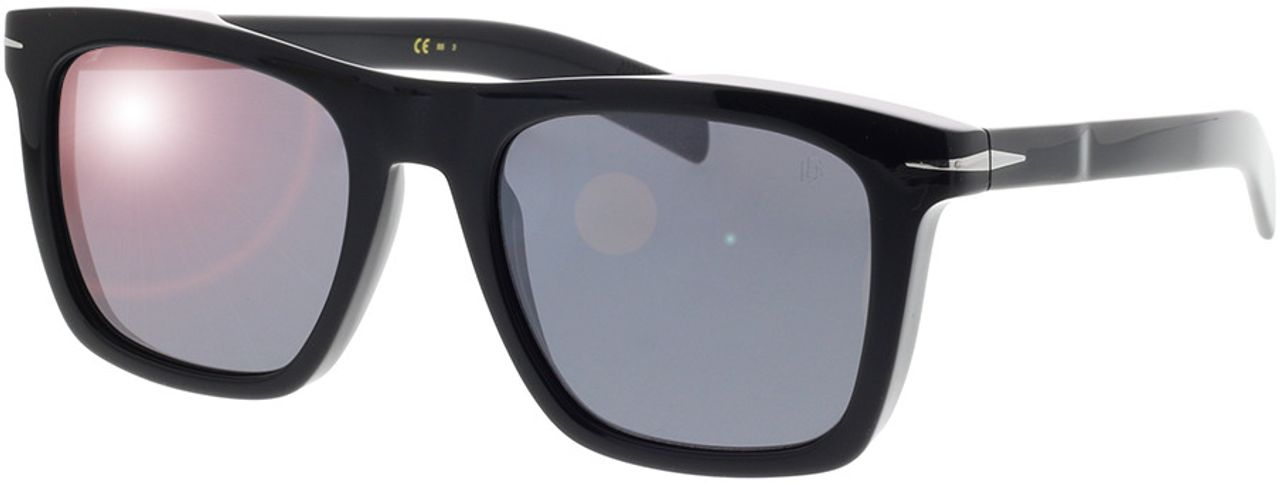 Picture of glasses model David Beckham DB 7000/S 807 51-20 in angle 330