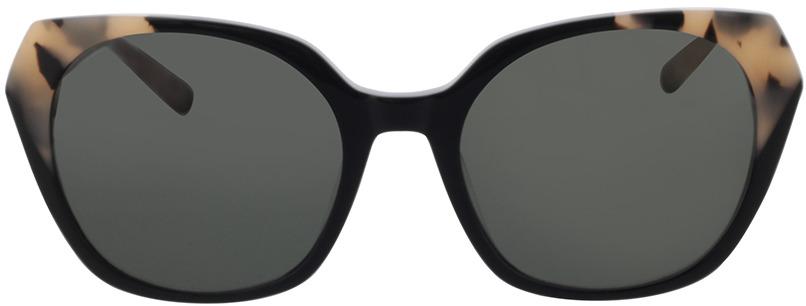 Picture of glasses model Comma, 77123 36 schwarz/beige schwarz gemustert 52-19 in angle 0
