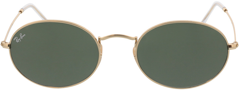 Picture of glasses model Ray-Ban Oval RB3547 001/31 54-21 in angle 0