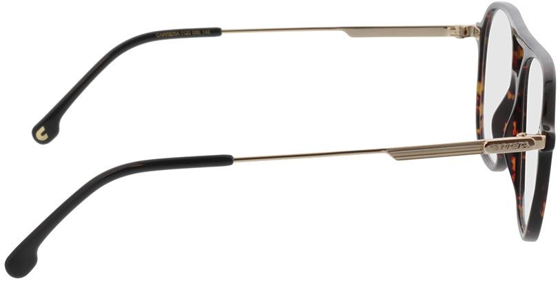 Picture of glasses model Carrera CARRERA 1120 086 54-16 in angle 90