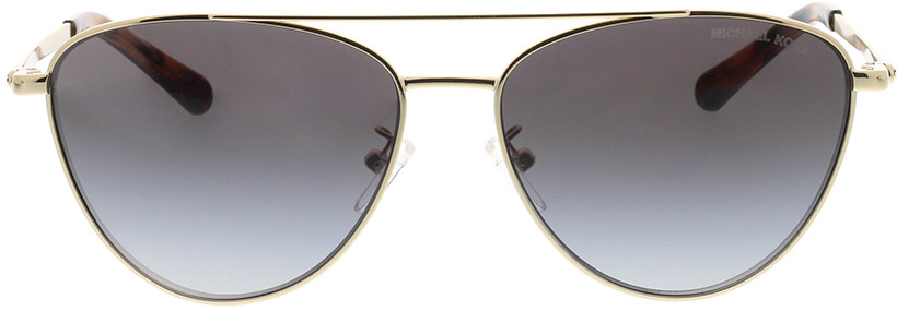 Picture of glasses model Michael Kors Barcelona MK1056 10148G 58-15 in angle 0