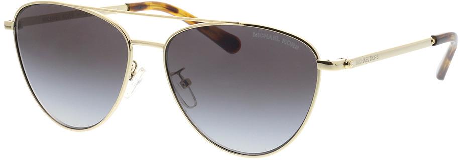 Picture of glasses model Michael Kors Barcelona MK1056 10148G 58-15 in angle 330