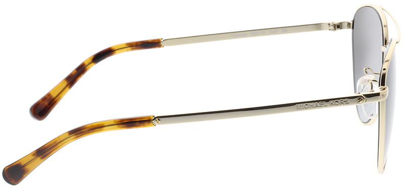 Picture of glasses model Michael Kors Barcelona MK1056 10148G 58-15 in angle 90