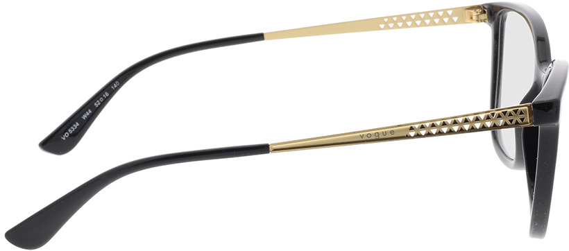 Picture of glasses model Vogue VO5334 W44 52-16 in angle 90