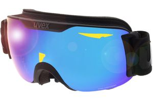 Skibrille Downhill 2000 S CV Black Matt/Mirror Blue