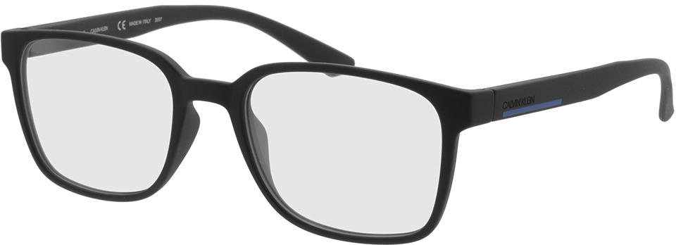 Picture of glasses model Calvin Klein CK20534 001 53-19 in angle 330