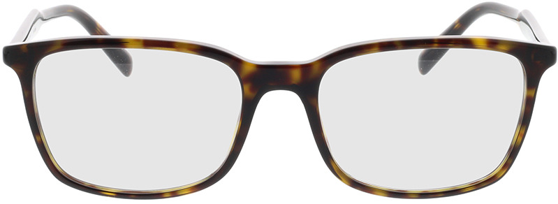 Picture of glasses model Prada PR 13XV 2AU1O1 55-18 in angle 0