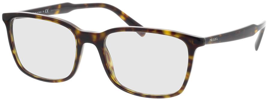 Picture of glasses model Prada PR 13XV 2AU1O1 55-18 in angle 330