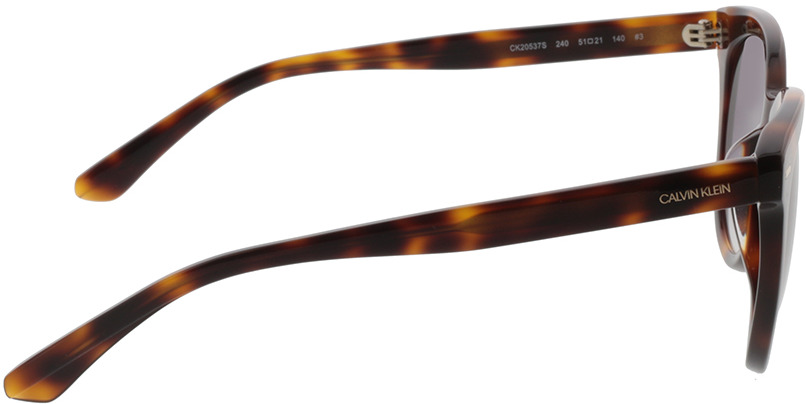 Picture of glasses model Calvin Klein CK20537S 240 51-21 in angle 90