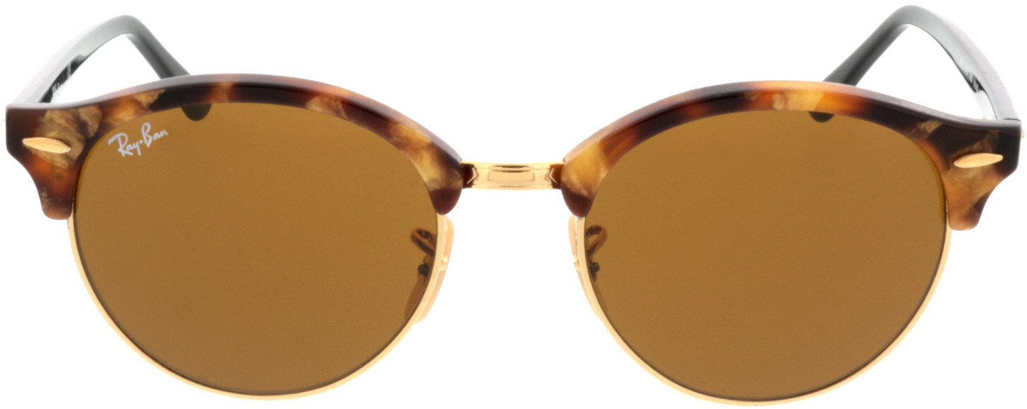Picture of glasses model Ray-Ban Clubround RB4246 1160 51-19 in angle 0