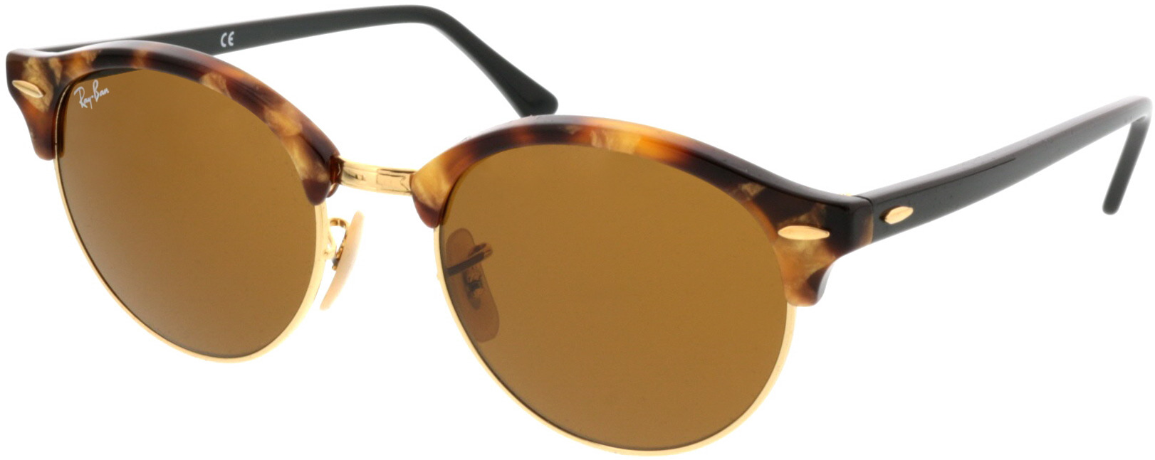 Picture of glasses model Ray-Ban Clubround RB4246 1160 51 19