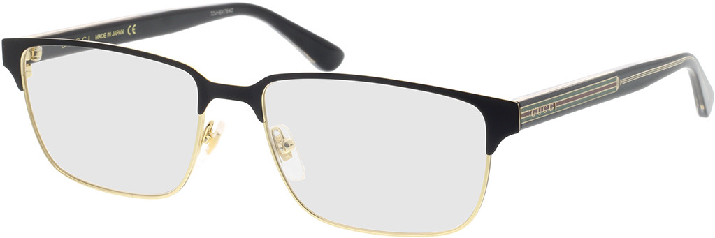 Picture of glasses model Gucci GG0383O-004 58-17 in angle 330