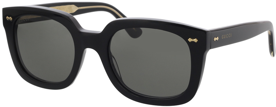 Picture of glasses model Gucci GG0912S-001 54-22 in angle 330