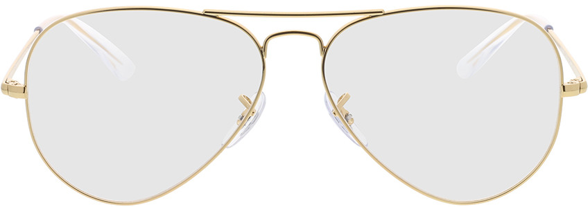 Picture of glasses model Ray-Ban RX6489 3086 58-14 in angle 0