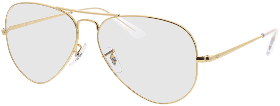 Picture of glasses model Ray-Ban RX6489 3086 58-14 in angle 330