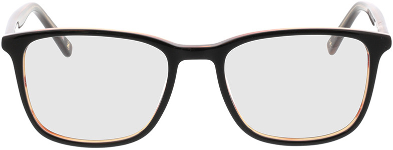 Picture of glasses model Colby-schwarz transparent braun in angle 0