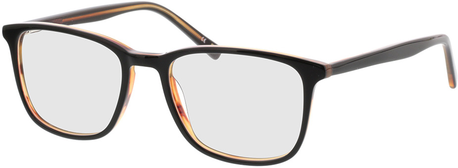 Picture of glasses model Colby-schwarz transparent braun in angle 330