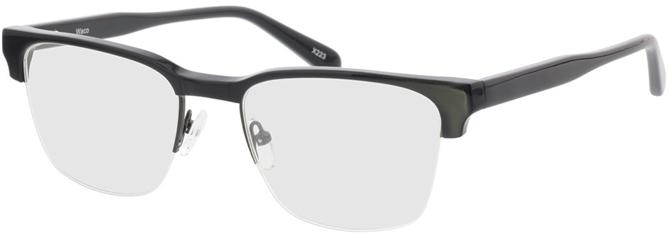 Picture of glasses model Waco Zwart in angle 330