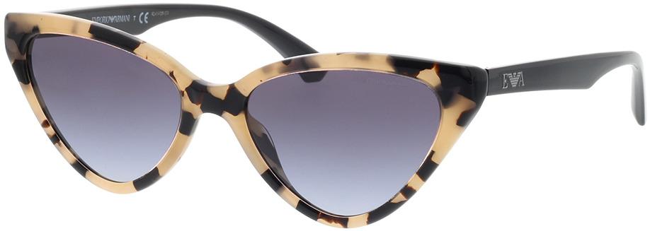 Picture of glasses model Emporio Armani EA4136 57968G 55-18 in angle 330