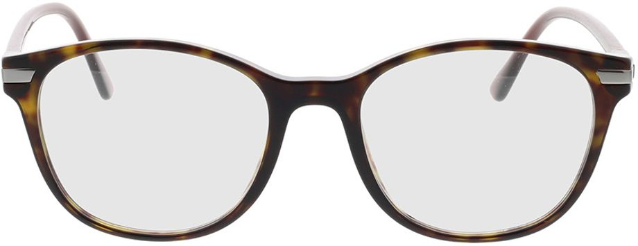 Picture of glasses model Prada PR 02WV 01A1O1 54-19 in angle 0